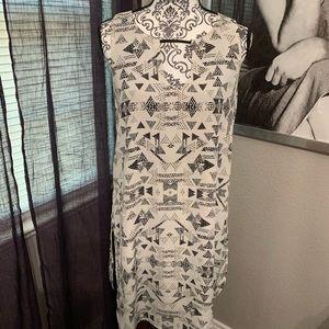 Dresses & Skirts - Black and white bar III dress